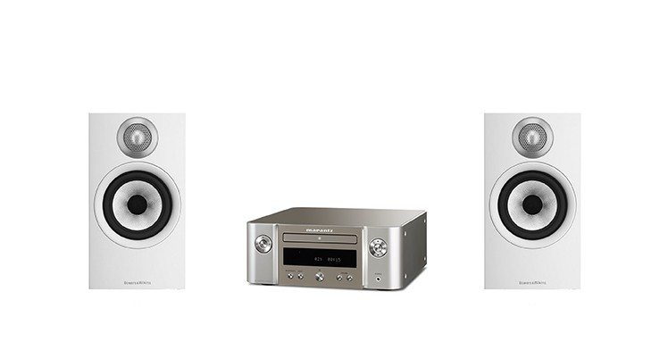 Bowers & Wilkins 607 + Marantz M-CR412 paketti