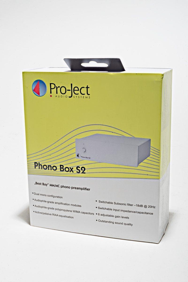 Pro-Ject Phono Box S2 Black