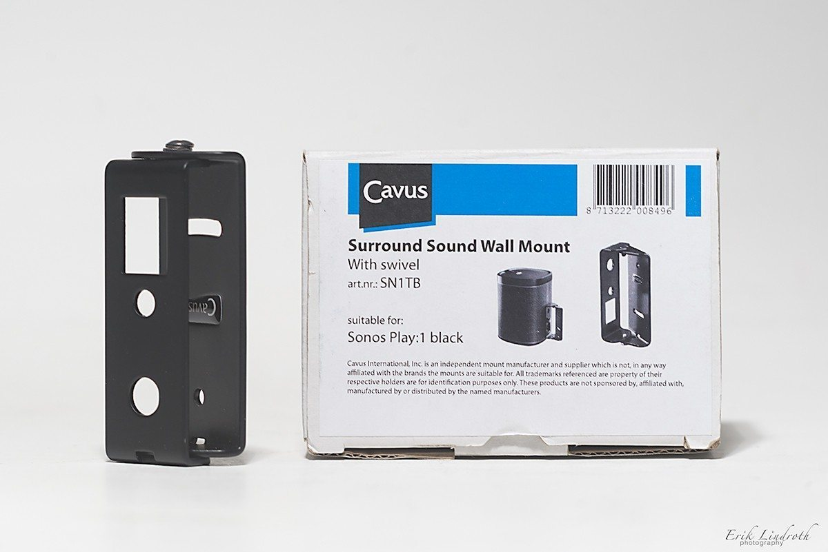 CAVUS Play:1 Wall Mount Black