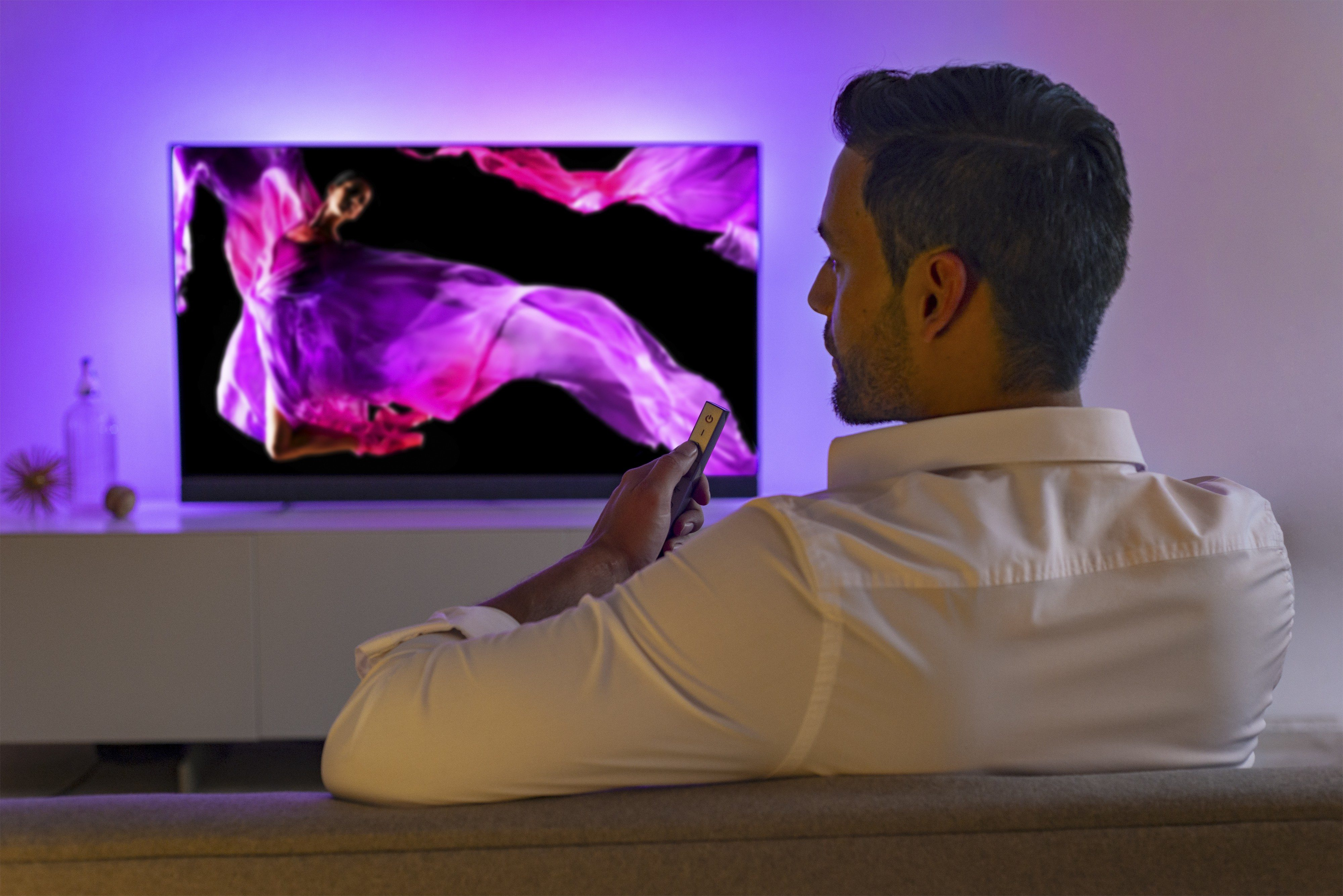 "Philips OLED+ 903 Ultra-Slim 4K UHD Android TV 55"""