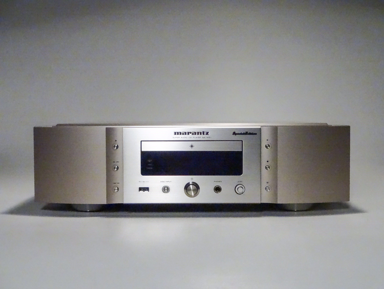 SA-14S1 sacd/cd-soitin Shampagne/Gold Demo
