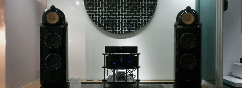 Sound & Cinema store - inside view